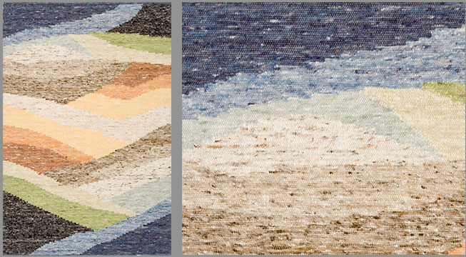 Hand Woven Wool Rugs - Country Design