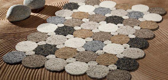 Woollen Designer Round Rugs Now Available